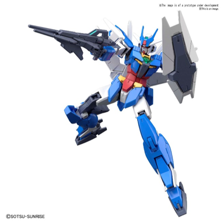 Bandai Spirits Gundam Build Divers RE:Rise - #01 Earthree Gundam 1/144 HG Model Kit