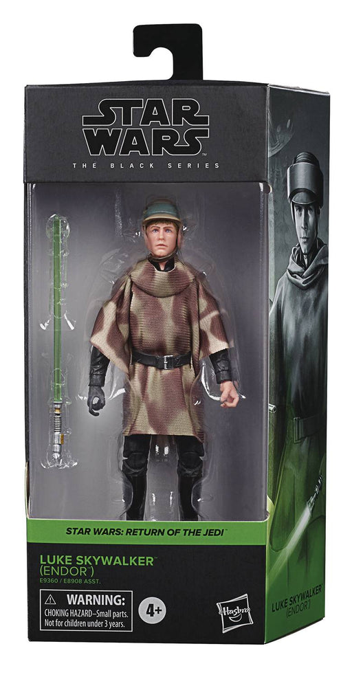 "Star Wars Black Series 6"" Endor Luke Skywalker (Return of the Jedi)"