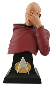 Icon Heroes Star Trek: The Next Generation - Captain Jean-Luc Picard Facepalm Limited Edition Mini Bust (2020 SDCC Exclusive)