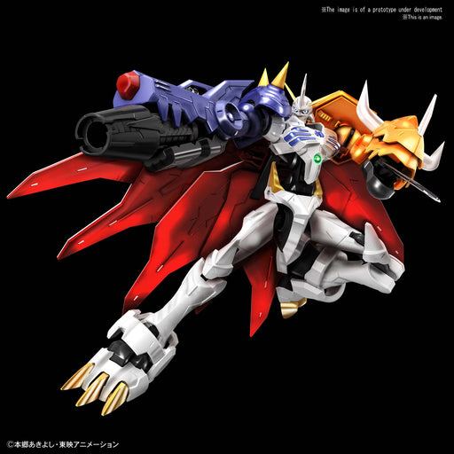 Bandai Spirits Digimon - Omegamon (Amplified) Figure-Rise Standard Model Kit