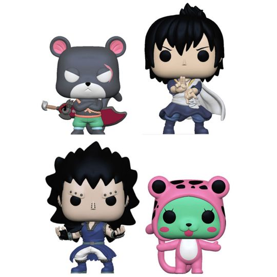 Funko Pop! Animation: Fairy Tail (Set of 4)