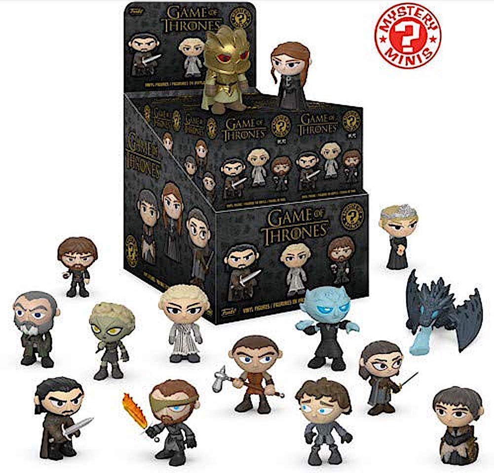 Funko Game Of Thrones Season 8 Mystery Mini Display (case Of 12)