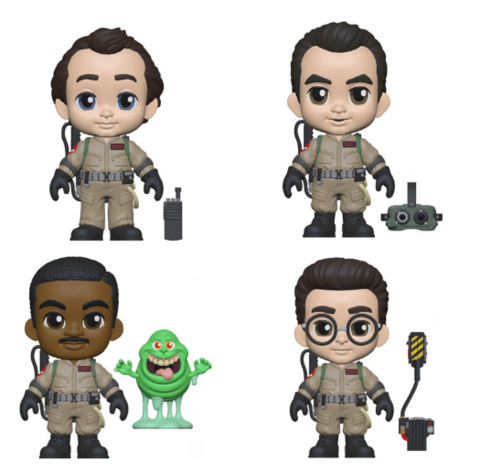 "Funko 5 Star: Ghostbusters Collectible Vinyl Figures, 3.75"" (Set of 4)"