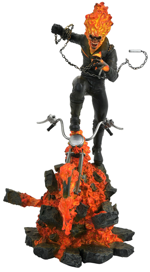 Diamond Select Marvel Milestones: Ghost Rider 15-inch Resin Statue