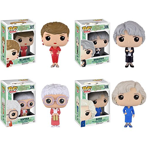Funko Pop! Television: The Golden Girls (Set of 4)