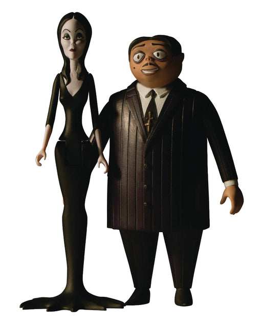 Mezco 5 Points: The Addams Family - Gomez & Morticia 2-Pack