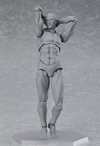 Max Factory Archetype Next Male Figma (Grey Colored Version)