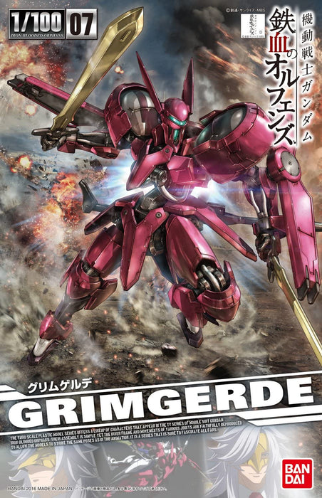 Bandai Hobby Iron-Blooded Orphans - #07 Grimgerde 1/100 Model Kit