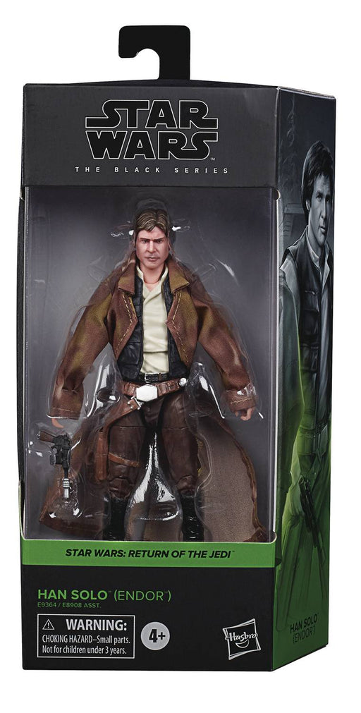 "Star Wars Black Series 6"" Endor Han Solo (Return of the Jedi)"