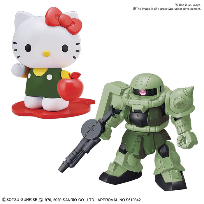 Bandai Spirits Hello Kitty x Zaku II Gundam SD-EX Standard Model Kit