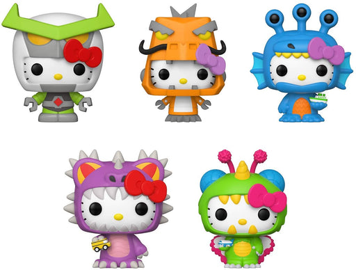 Funko Pop! Sanrio: Hello Kitty Kaiju (Set of 5)