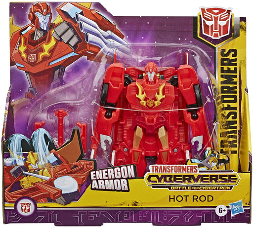 Hasbro Transformers Cyberverse Action Attackers Ultra Class Action Figure - Hot Rod