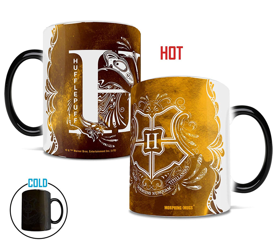 Morphing Mugs Harry Potter (Aguamenti Hufflepuff) Heat-Sensitive Mug