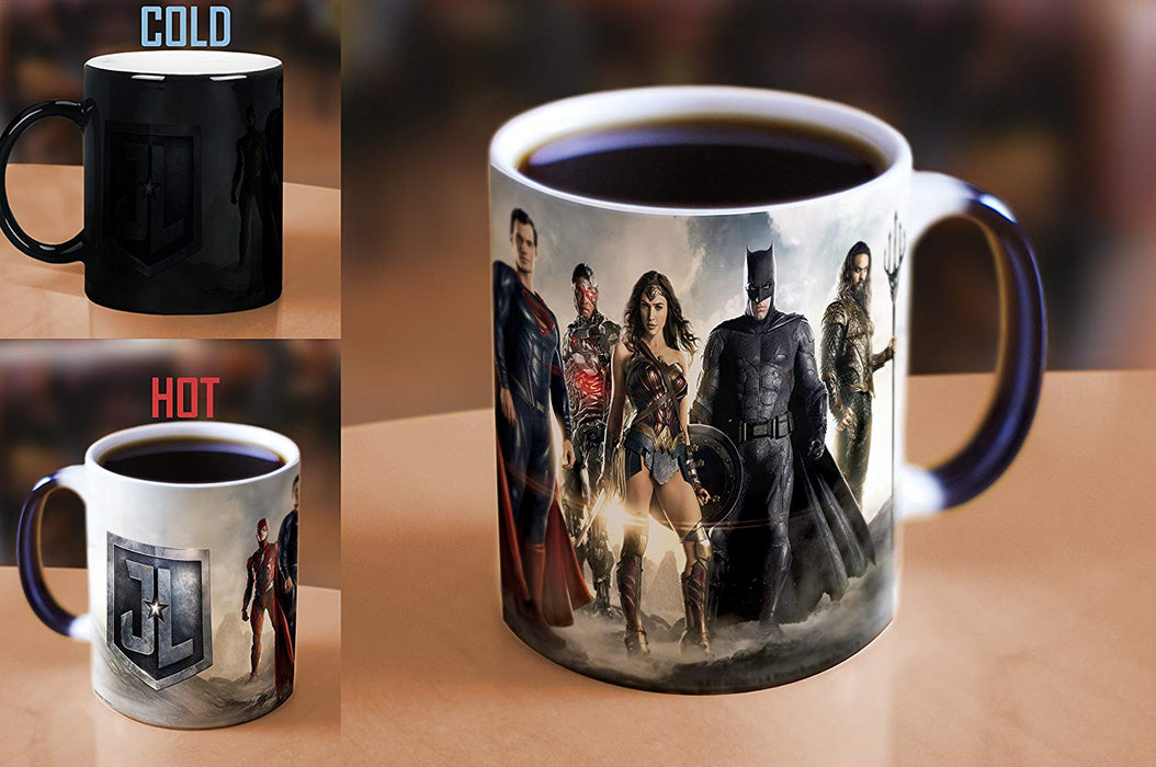 Morphing Mugs DC Comics Justice League Movie (Group) Heat-Sensitive Mug (2017 SDCC Exclusive)