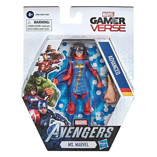 Hasbro Marvel Gamerverse 6-inch Action Figure - Ms. Marvel Kamala Khan