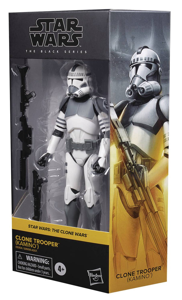 "Star Wars Black Series 6"" Kamino Clone Trooper (Clone Wars)"