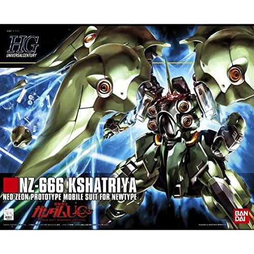 Bandai Hobby Mobile Suit Gundam Unicorn - #99 NZ-666 Kshatriya HG Model Kit