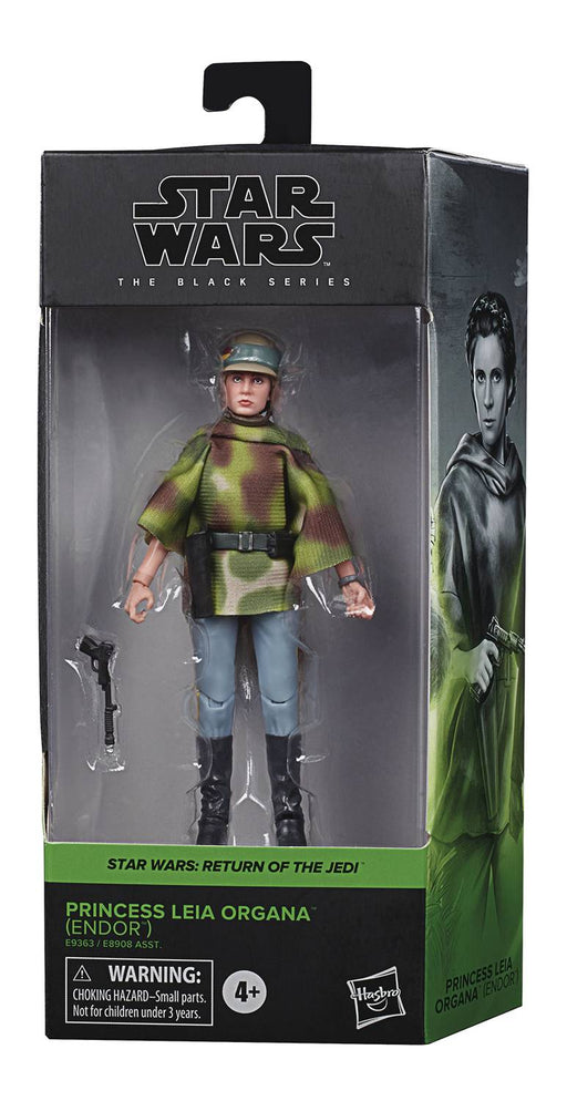 "Star Wars Black Series 6"" Endor Princess Leia (Return of the Jedi)"