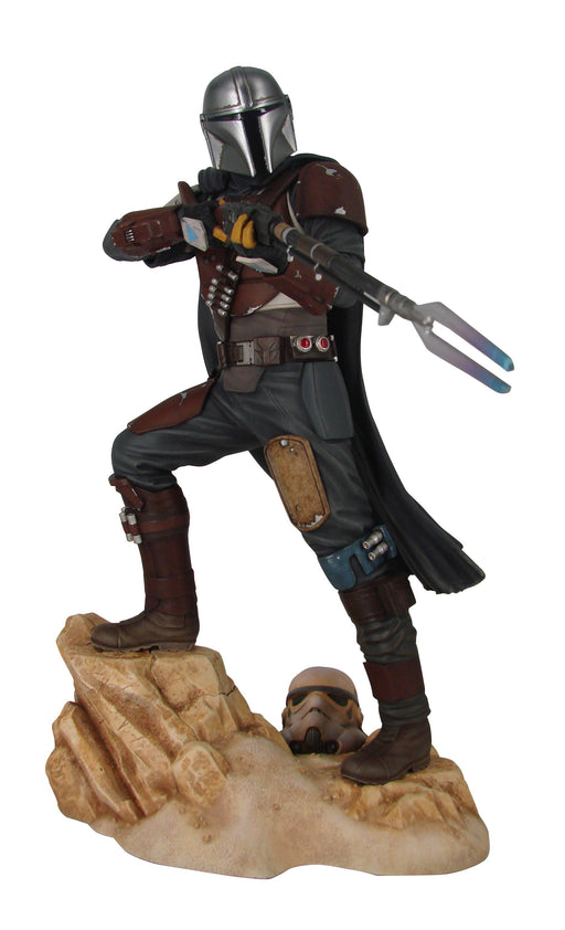 Diamond Select Toys Premier Collection: Star Wars - The Mandalorian (Mk1 Ver.) Statue