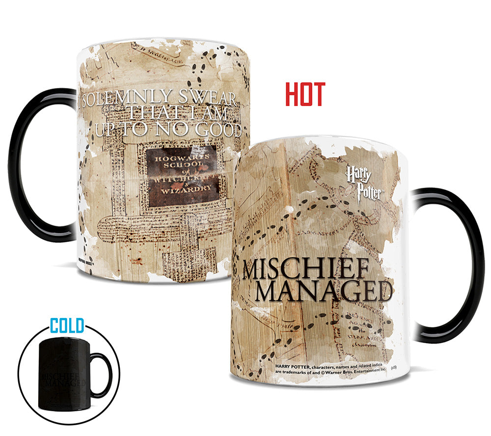 Morphing Mugs Harry Potter (Marauder's Map) Heat-Sensitive Mug