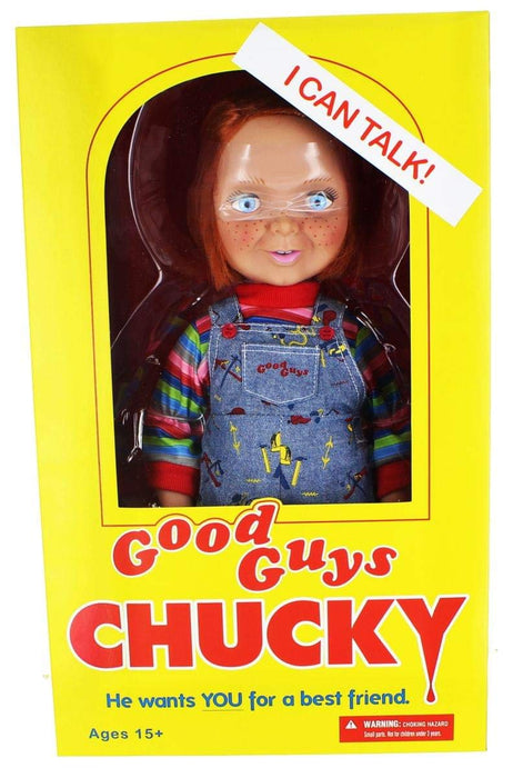 "Mezco Child's Play - Talking Good Guys Chucky 15"" Mega-Scale Action Figure"