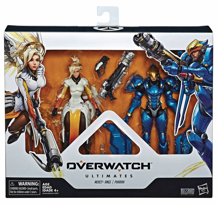 Overwatch Ultimates Series 6-inch Action Figures - Mercy & Pharah Two-pack