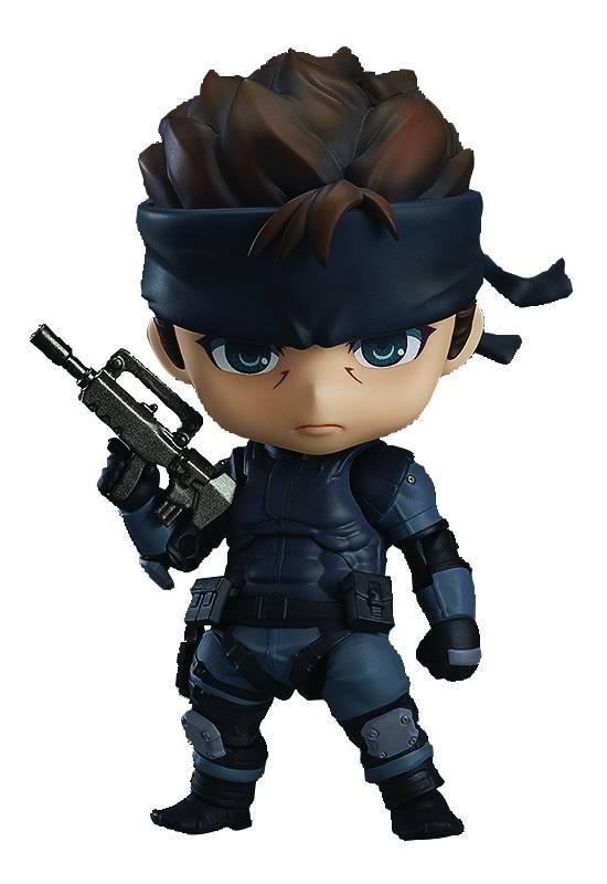 Good Smile Metal Gear Solid - Solid Snake Nendoroid