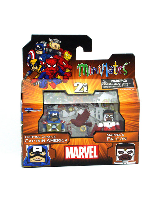Diamond Select Toys Marvel Minimates Wave 18 - Captain America and Falcon
