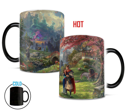 "Morphing Mugs ""Mulan Blossoms of Love"" by Thomas Kinkade Heat-Sensitive Mug"