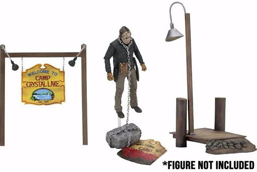 NECA Friday the 13th - Camp Crystal Lake Accessory Set