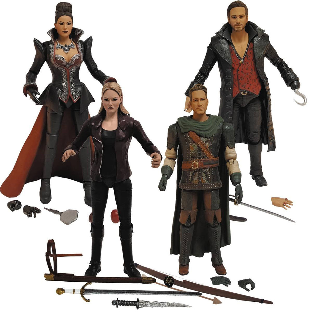 Icon Heroes Once Upon A Time Action Figures (Set of 4)