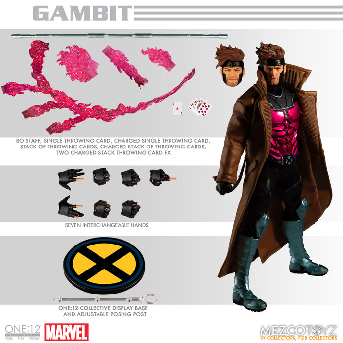 Mezco One:12 Collective Marvel - Gambit
