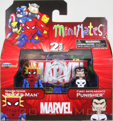 Diamond Select Toys: Marvel Minimates - Spider-Man and Punisher