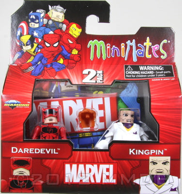 Diamond Select Toys: Marvel Minimates - Daredevil and Kingpin 2pk