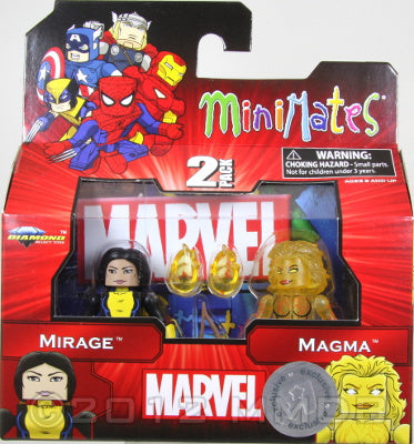Diamond Select Toys: Marvel Minimates - Series 13 - Mirage and Magma