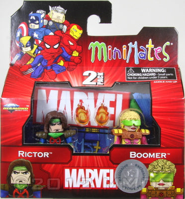 Diamond Select Toys: Marvel Minimates - Rictor and Boomer
