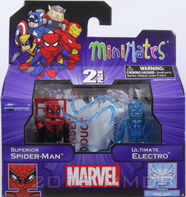 Diamond Select Toys: Marvel Minimates - Superior Spider-Man and Ultimate Electro