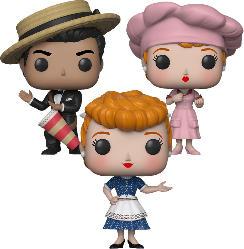 Funko Pop! Television: I Love Lucy (Set of 3)