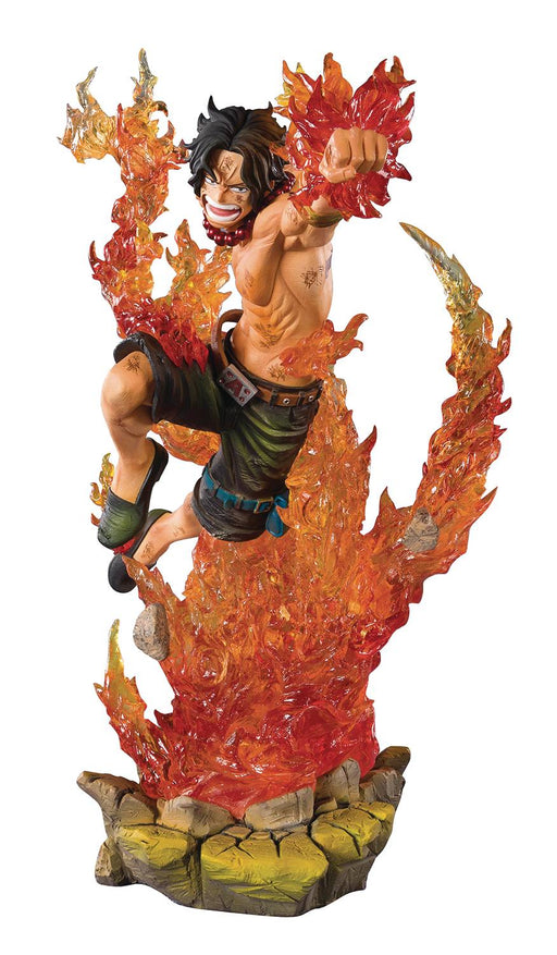 Bandai Tamashii Nations One Piece - Portgas.D.Ace Commander of the Whitebeard 2nd Division FiguartsZERO