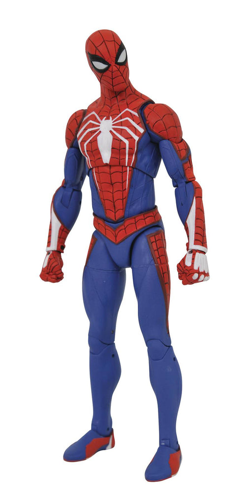 Diamond Select Toys Marvel Spider-Man (Playstation 4 Ver.) Select Action Figure