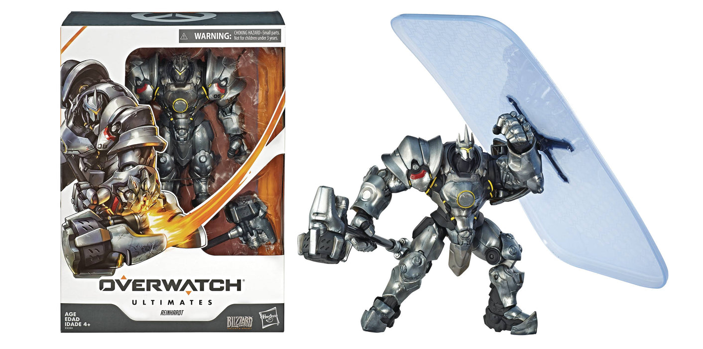 Overwatch Ultimates Series Deluxe Reinhardt Action Figure