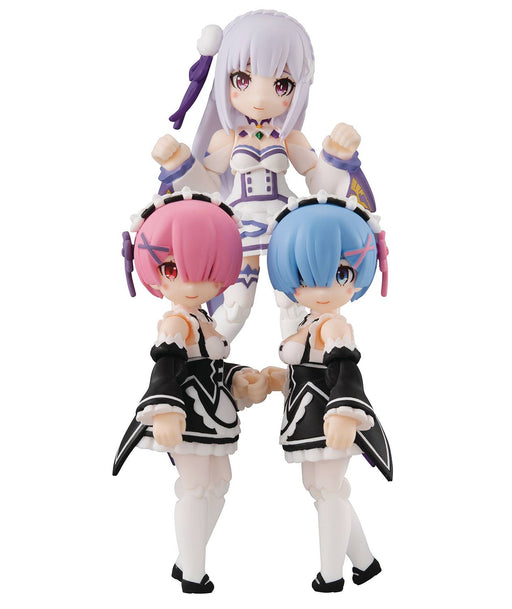 Megahouse Desktop Army: Re:Zero Starting Life in Another World - Emilia, Rem & Ram