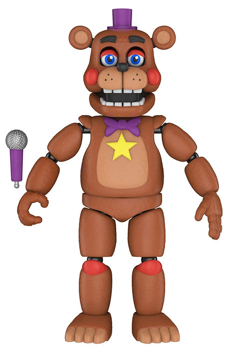 Funko Five Nights at Freddys Pizza Simulator Articulated Action Figure - Rockstar Freddy