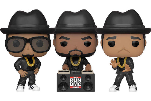 Funko Pop! Rocks: Run DMC (Set of 3)