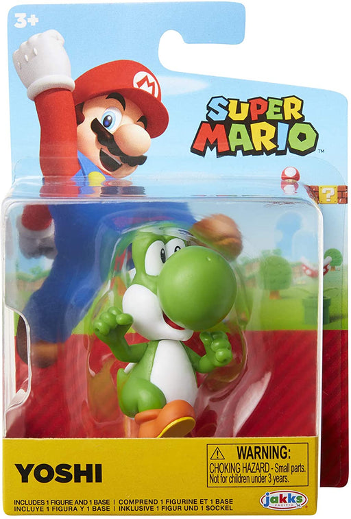 Jakks World of Nintendo: Super Mario 2-1/2 Minifigures (Wave 23) - Running Yoshi
