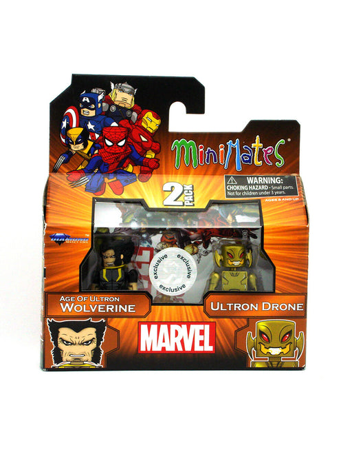 Diamond Select Toys Marvel Minimates Wave 18 - Wolverine and Ultron Drone