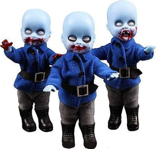 Mezco Living Dead Dolls: Munchkins of Oz 3-Pack