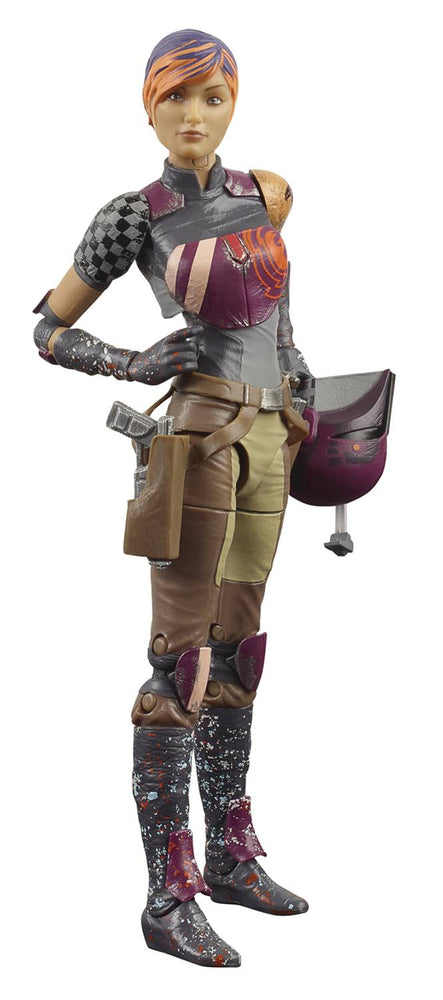 "Star Wars Black Series 6"" Sabine Ren (Rebels)"