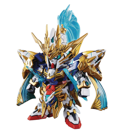 Bandai Hobby SD Sangoku Soketsuden - Zhao Yun 00 Gundam & Blue Dragon Drive SD Model Kit