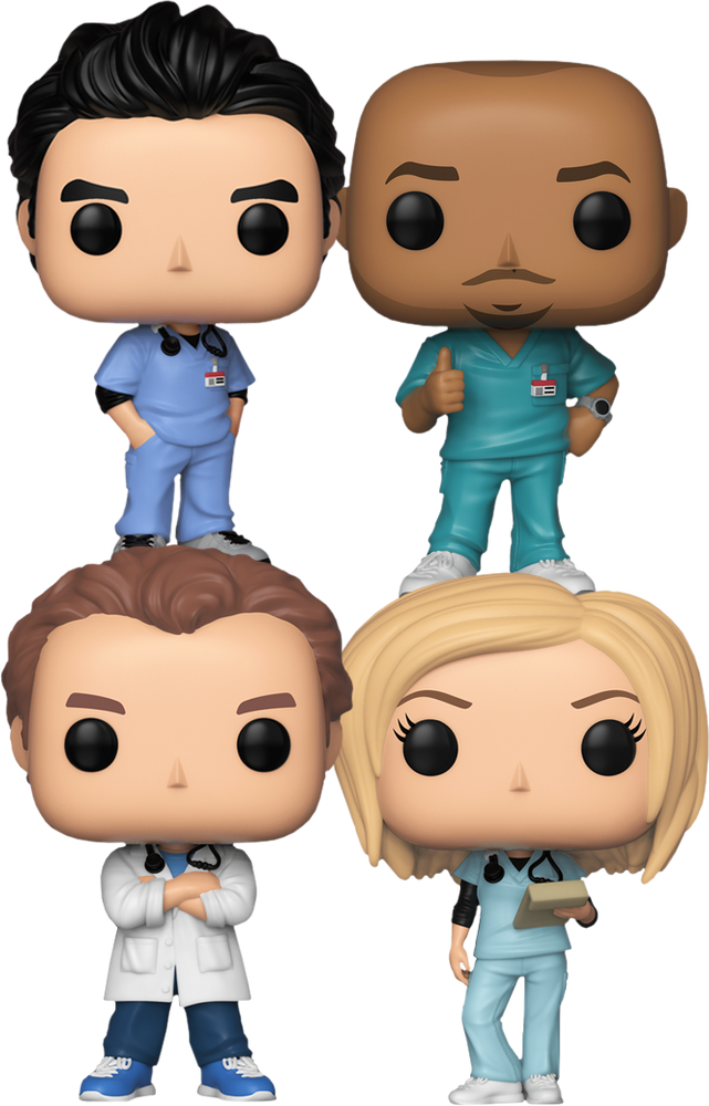 Funko Pop! Television: Scrubs (Set of 4)